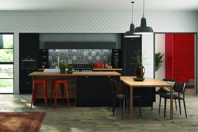 Une cuisine style industriel, Ixina  - Marie Claire Maison
