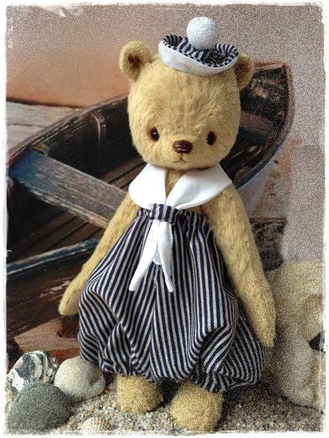 PDF Pattern Vintage Bear SMUTJE :) - by Eileen Seifert - Teddy-Manufaktur. €9.95, via Etsy.: