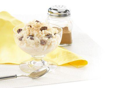 Cinna-Raisin Rice Pudding   Recipes with SPLENDA® Sweetener Products