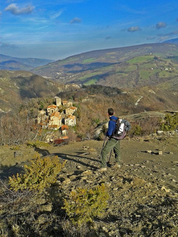 uno dei tanti gioiellini della Valmarecchia: il borgo di Gattara...