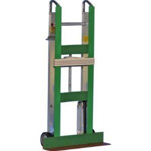 """Yeats 47-Inch Aluminum Appliance Hand Truck by Yeats Appliance Dolly Manufacturing Co LLC. $369.99. The Yeats """"Shorty"""" Appliance Hand Truck is available with heavy felt or non marking plastic padding and is designed for moving TV sets, room air conditioners and other small appliances.Sometimes you need the strength of a regular appliance truck in a short version for smaller loads...this is it!"""