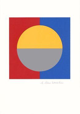 Regeln und Steuern, 1989_Anton Stankowski #Symmetrical Balance