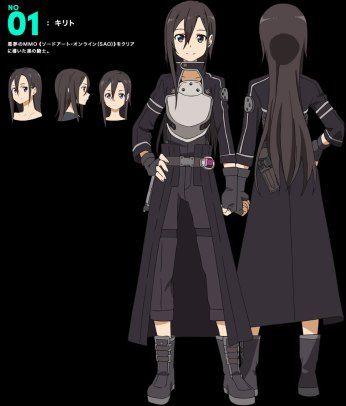 Sword-Art-Online Season 2 Character Design Kirito. Why's his hair so long???