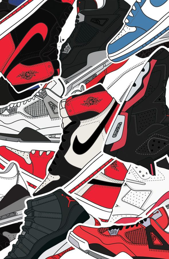 The Jumpman Print Available at FLASHXHYPE.com | protective feet | Sneakers wallpaper, Hypebeast ...