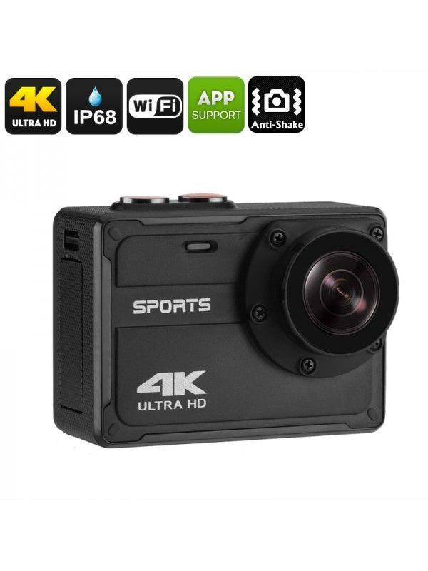 Waterproof 4K Sports Camera
