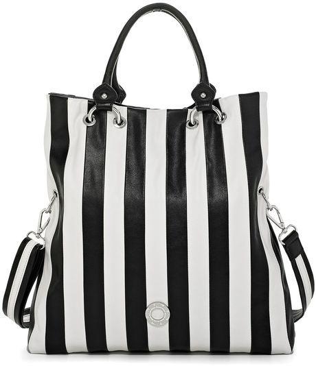 FOLLIE FOLLIE Stripes Shoulderbag