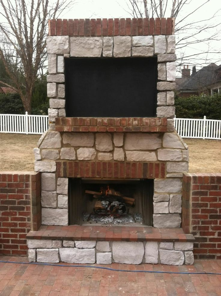 Fireplace Design outside wood burning fireplace : 57 best outdoor fireplace images on Pinterest