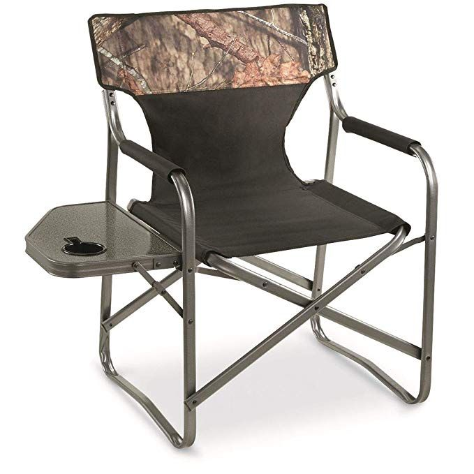 Guide Gear Mossy Oak Break Up Country Oversized Director S Chair 500 Lb Capacity Review Camping Furniture Chair