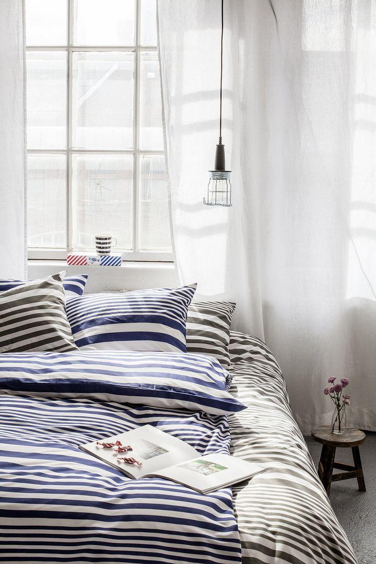Sanna Luhaniemi / Striped bedding