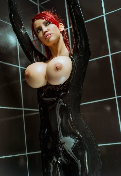 latex big tit models in bras - I like shinny, glossy, greasy, slippery, tight awesomeness.