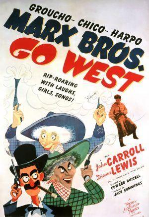 Los hermanos Marx en el Oeste