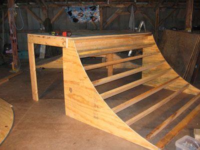 Quarter Pipe Plans | Step 3 - Build the Platform | Skate ...