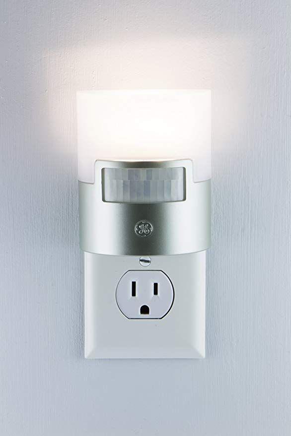 Ge Ultra Brite Motion Activated Led Light 40 Lumens Soft White Night Light Energy Efficient Ideal Fo Motion Sensor Lights Elderly Care Sensor Night Lights