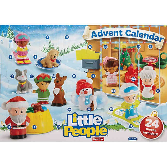 Fisher Price Little People Advent Calendar Bed Bath Beyond