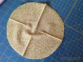 Stitch By Stitch African Flower Crochet Bag Lining Tutorial