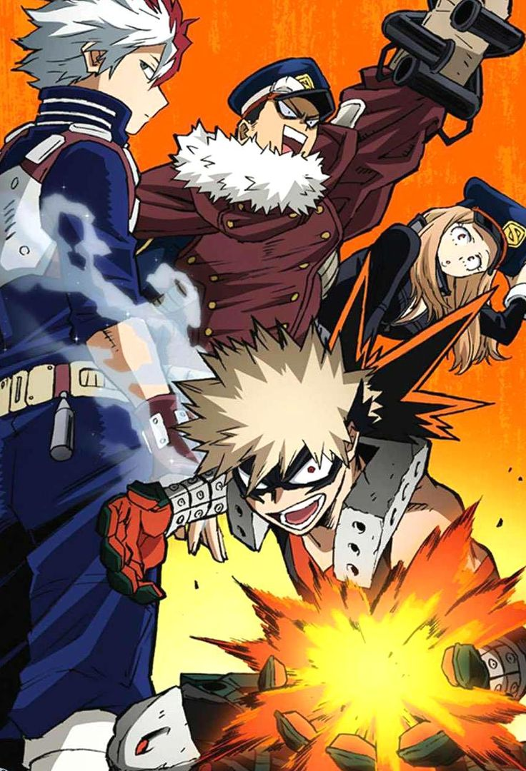 My hero academia season 4 which ended a while ago recently