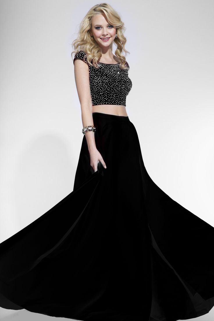 Black two piece prom dress two piece dresses for prom check more