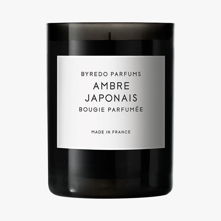 Ambre japonaise Bougie - Byredo - Find this product on Bon Marché website - Le Bon Marché Rive Gauche