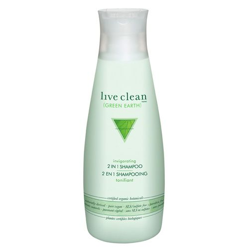 Live Clean Green Earth 2-in-1 Shampoo (32143) For those quickie showers before next class, right Mom? Love it!! #SetMeUpBBY