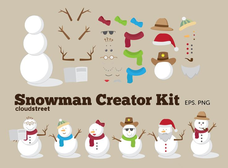Clip Art Clip Art Creator 1000 ideas about snowman clipart on pinterest vector file girl christmas clip art creator kit for personal and commercial use clipart
