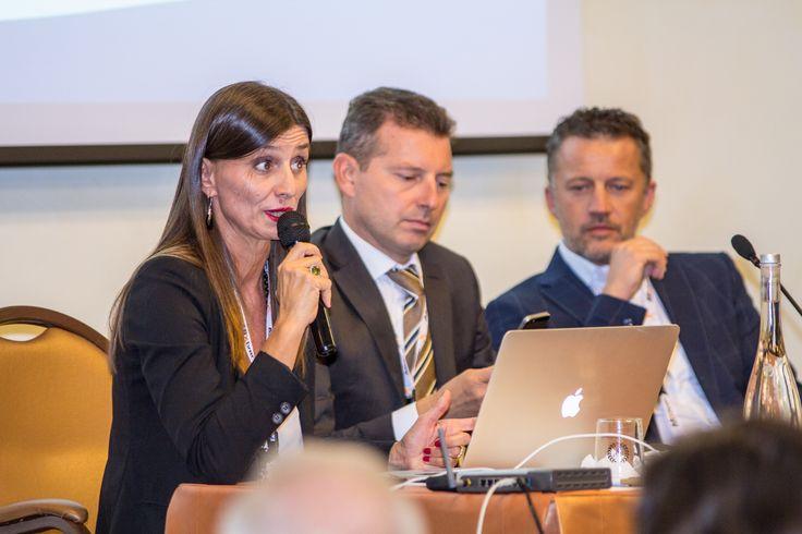 Silvia Montanari (Talea Consulting) Claudio Vigasio e Alberto Carrai (Abletech)