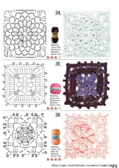 14 mejores imágenes de tejidos en Pinterest | Patrones de ganchillo ...