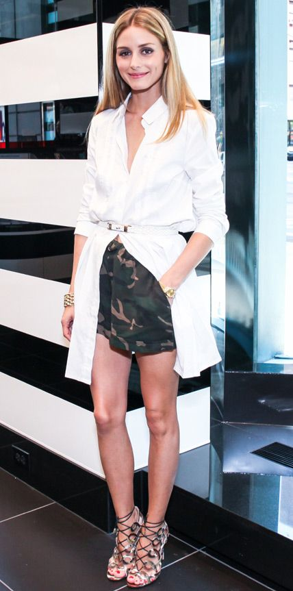 Look of the Day - July 31, 2014 - Olivia Palermo from #InStyle