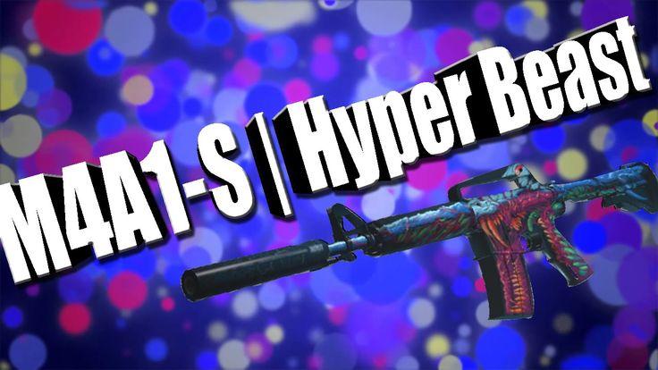 """CS:GO-TOP 4-Sticker Combinations: """"M4A1-S""""   Hyper Beast (Скоростной зверь)"""