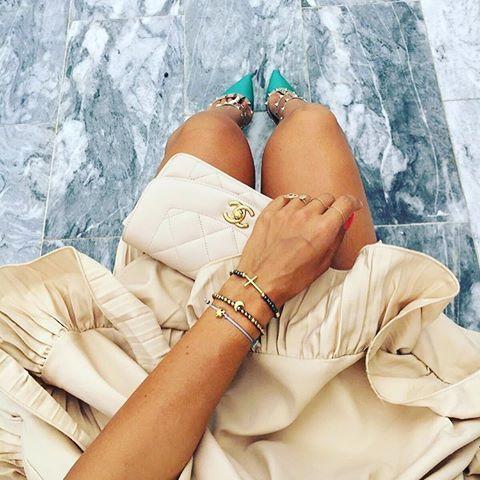 Dzień dobry 😄😀 Zobaczcie jaka Piękna stylizacja @katekijo ❤️ z naszymi bransoletkami 😮❣❤️❣ #bransoletki #tamilove #skleponline www.tamilove.pl #handmadejewelry #polishgirl #picoftheday #instagood #fashionlover