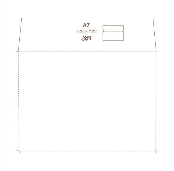 30 Microsoft Word A7 Envelope Template In 2020 Envelope Printing