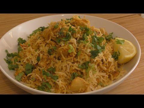 Chicken Biryani ( Simple Version ) - YouTube