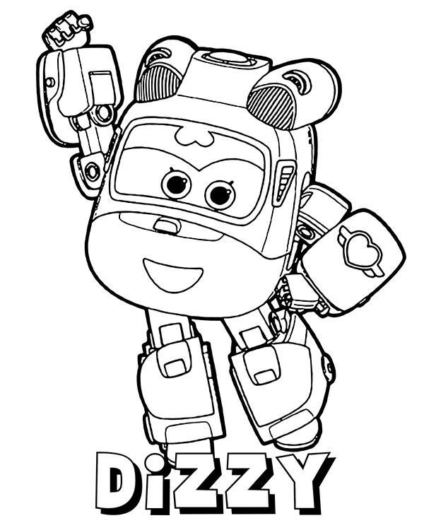 rescue helicopter from super wings  free coloring sheets