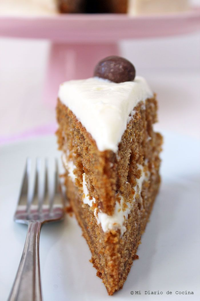 Mi Diario de Cocina | Carrot cake | http://www.midiariodecocina.com/en