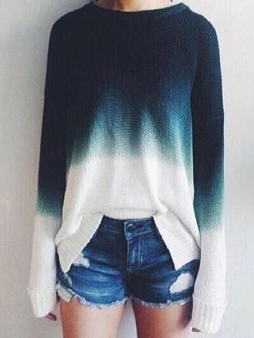 Cotton Candy Pullover Sweater