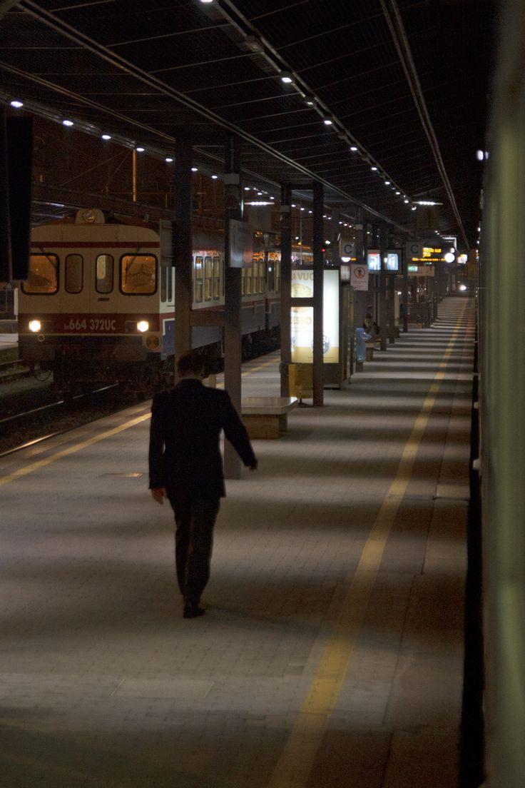 Stazione di Udine, by night