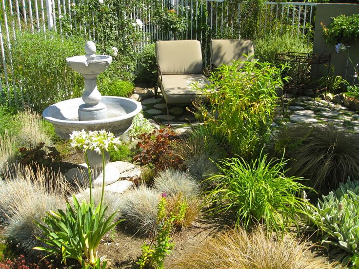 Garden Design No Grass consider a no lawn backyard design to maximize the use of a small