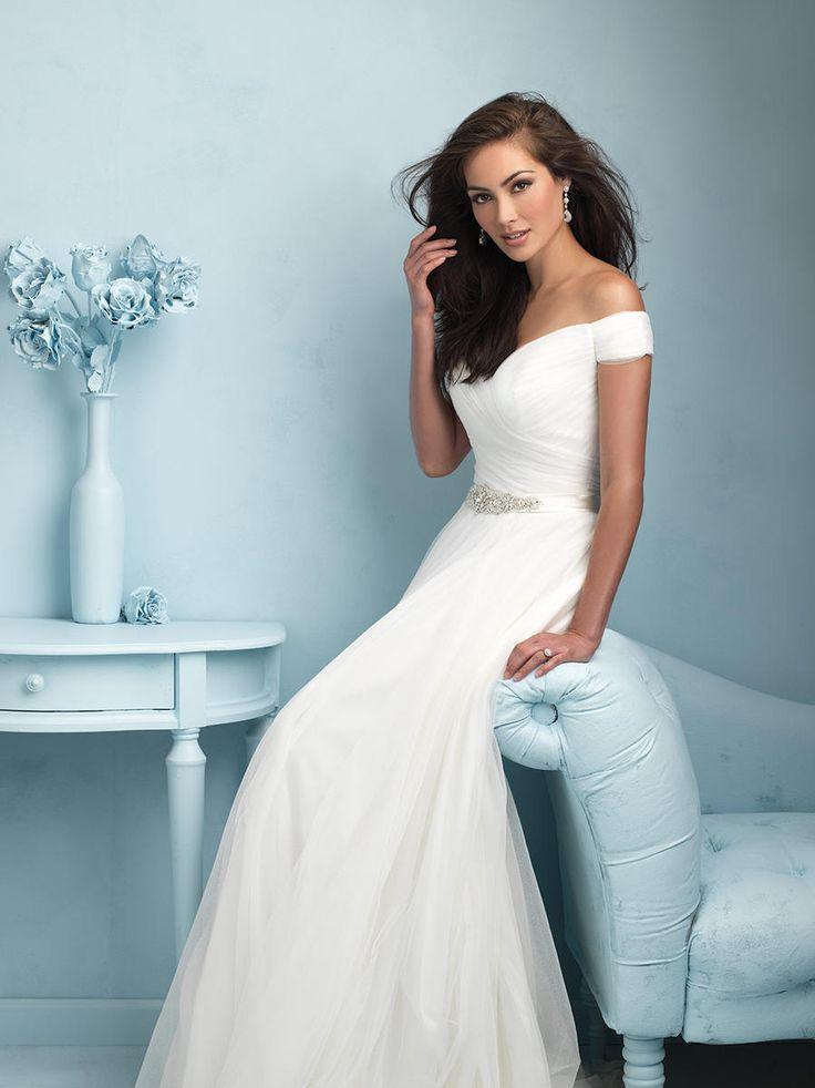 228 best Allure Bridal Gowns images on Pinterest   Short wedding ...