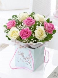 Mother's Day Rose Gift Bag