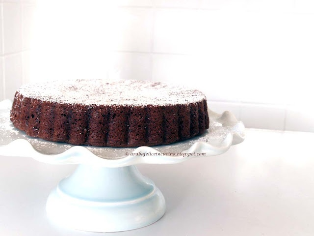 TORTA DI RISO AL CIOCCOLATO  Rice and chocolate cake, so simple!