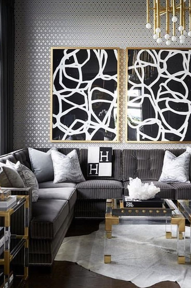 Best White Living Room İdeas Return To Your Room With These Soft White Designs 2019 Page 27 Of 30 Eeasyknitting Com Black And Gold Living Room Gold Living Room Silver Living Room