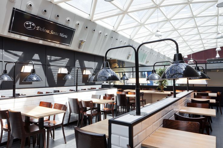 LEDS-C4 has supplied the lighting for Dehesa Santa Maria in Terminal 2 of Barcelona Airport.