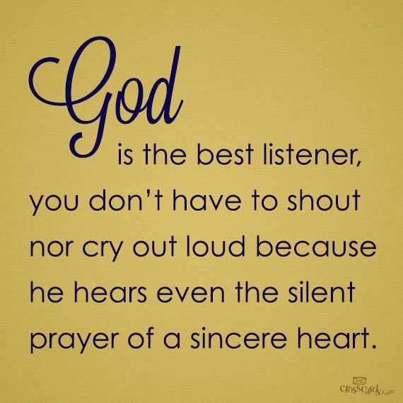 AMEN! Thank You, God, that You hear every prayer, and that You care so much about each and every one of Your children! I am so thankful to be a part of the flock of Jesus Christ!!! ♥