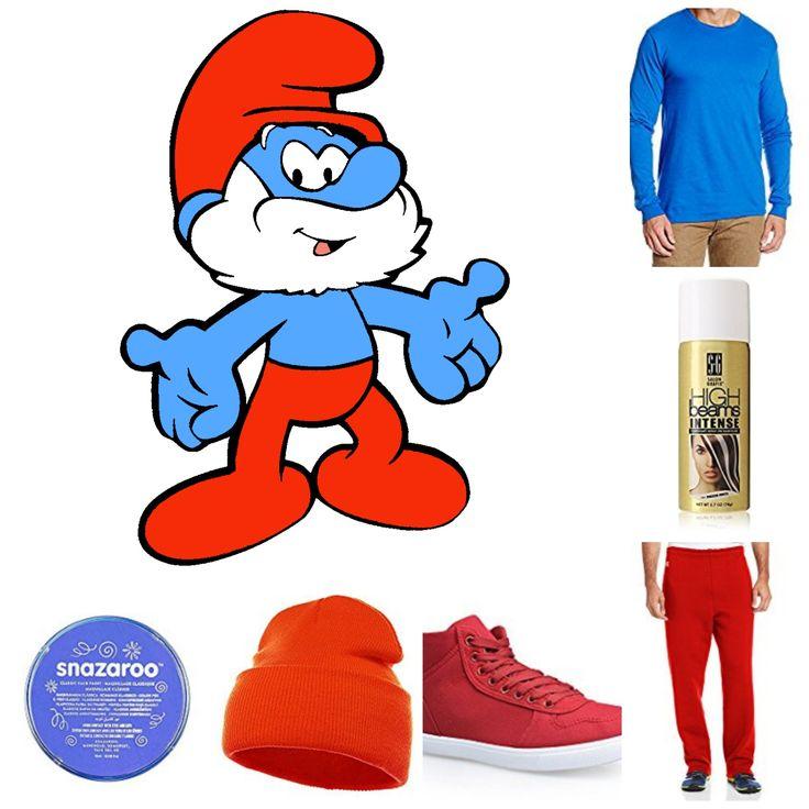 Papa Smurf Halloween Costume