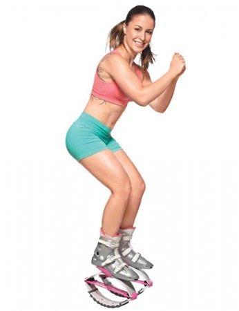 Kangoo Jumps queima até 500 calorias e turbina os músculos inferiores! Treino sob medida