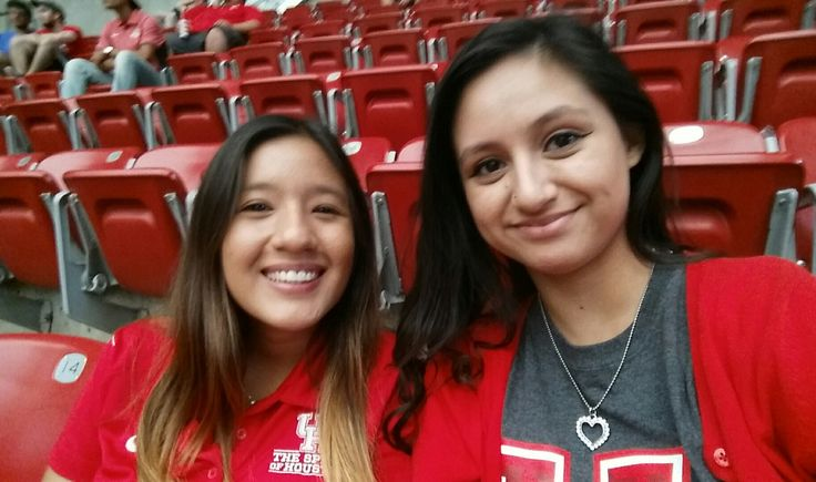 First game of the season! Houston Cougars v.s. Oklahoma Sooners!