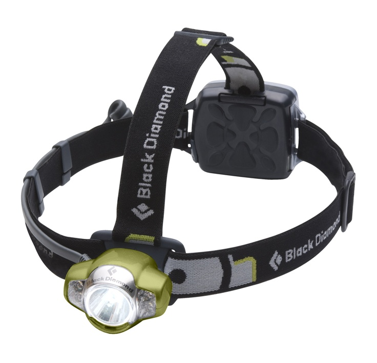 """Black Diamond Equipment """"Icon"""" headlamp.  You need bright?  You need light for a long time?  This is the one."""
