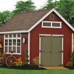 shed colors traditional with amish sheds transitional outdoor clocks