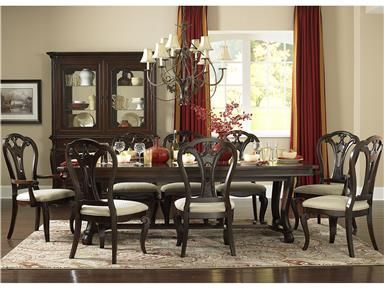 Shop For Hillsdale Furniture Grandover Nine Piece Dining Set With Large Extension Table Six