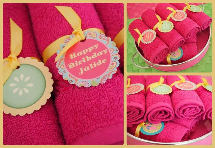 spa pamper party Birthday Party Ideas | Photo 9 of 58 | Catch My Party