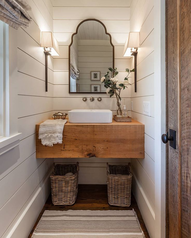 25 best ideas about farmhouse style bathrooms on pinterest farm style bathrooms farm style. Black Bedroom Furniture Sets. Home Design Ideas